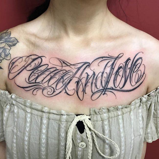 Script Tattoo 96