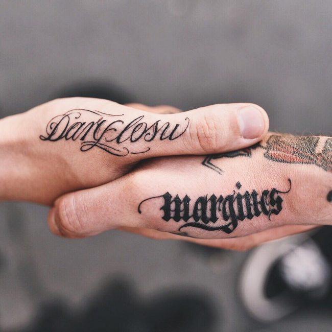 Script Tattoo 98