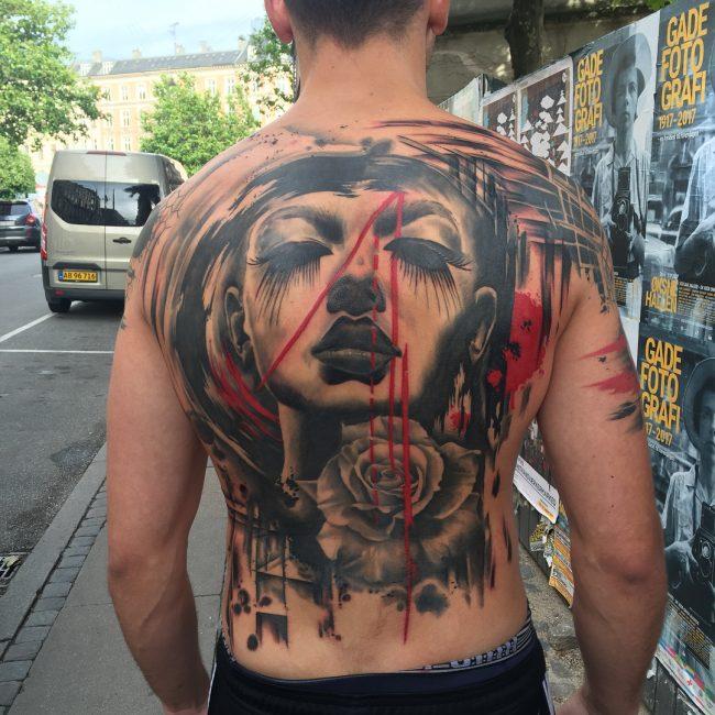 Trash Polka Tattoo 1