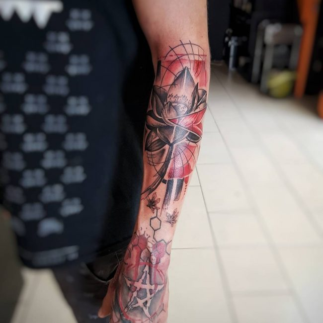 Trash Polka Tattoo 13