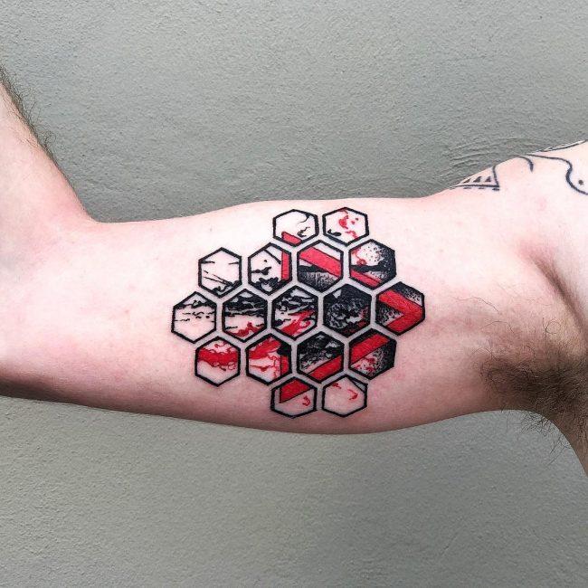Trash Polka Tattoo 15