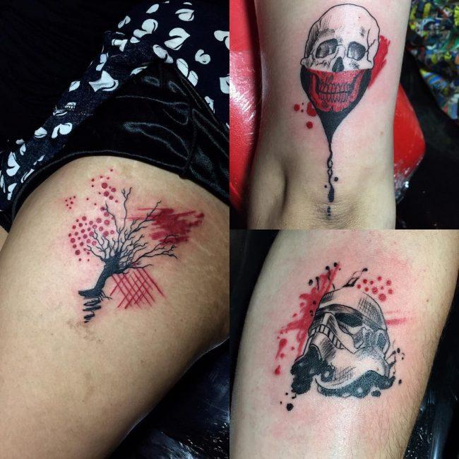 Trash Polka Tattoo 19