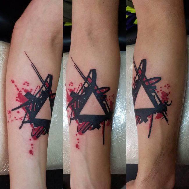 Trash Polka Tattoo 21