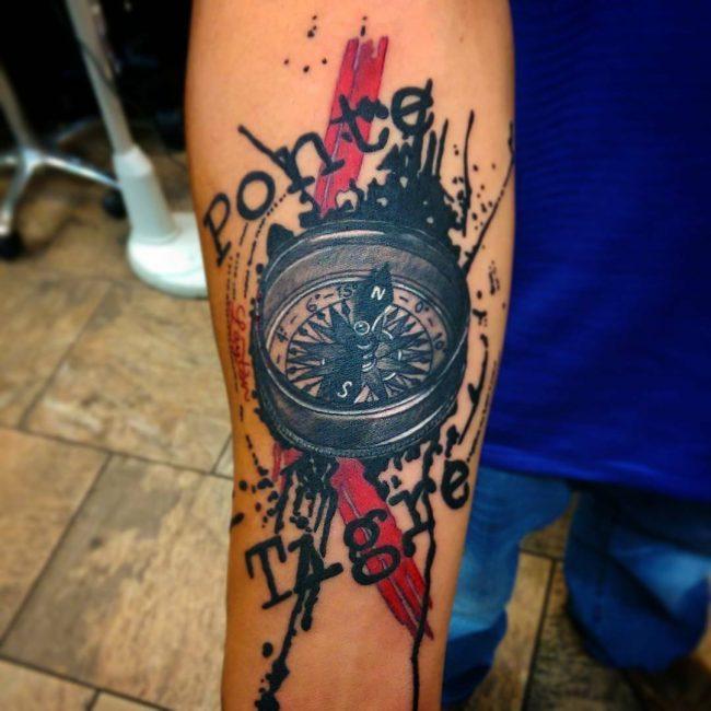 Trash Polka Tattoo 22