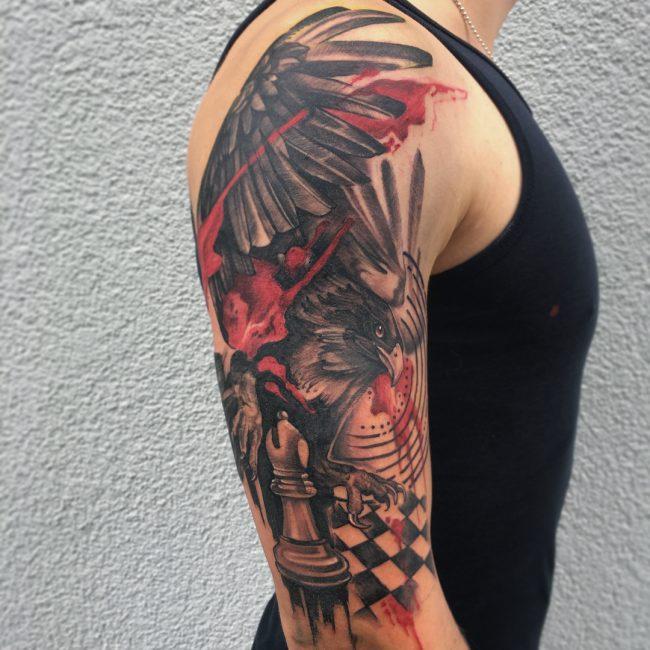 Trash Polka Tattoo 25