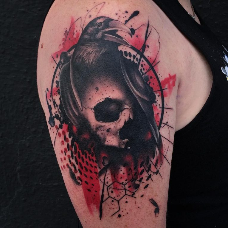 Trash Polka Tattoo 26