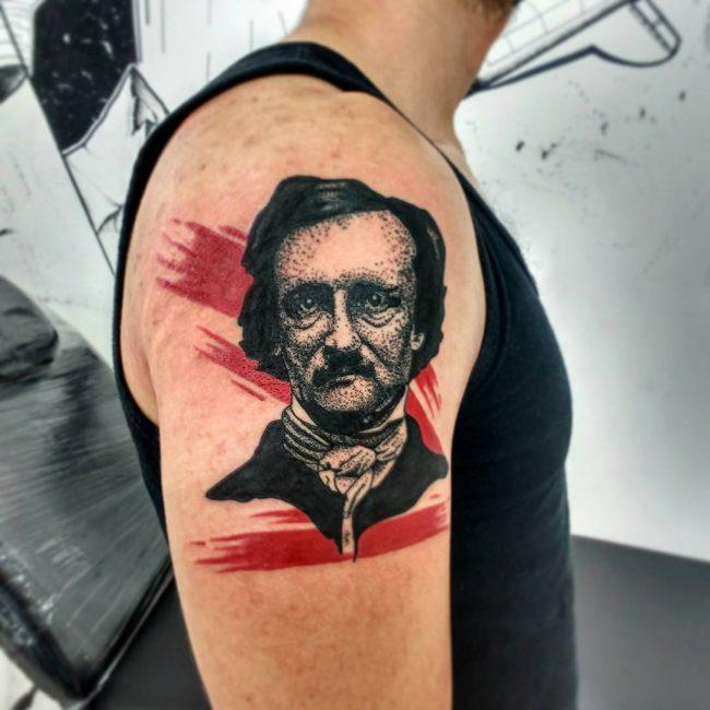 Trash Polka Tattoo 29