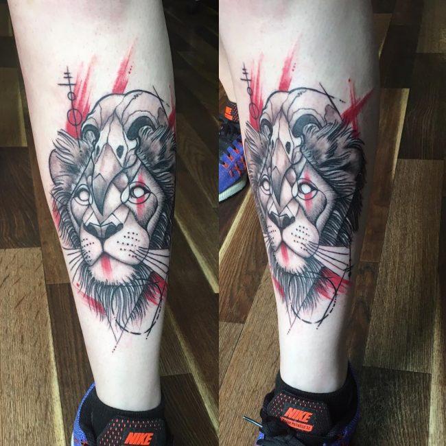 Trash Polka Tattoo 3