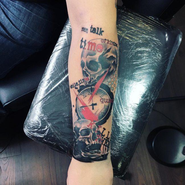 Trash Polka Tattoo 30