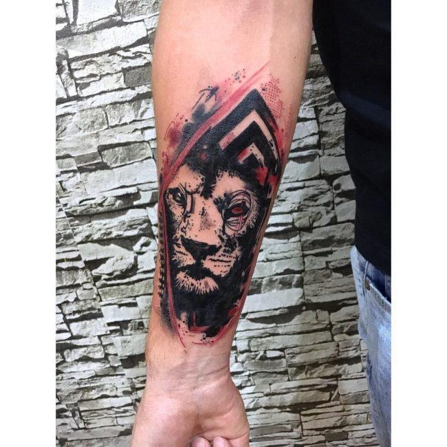 Trash Polka Tattoo 32