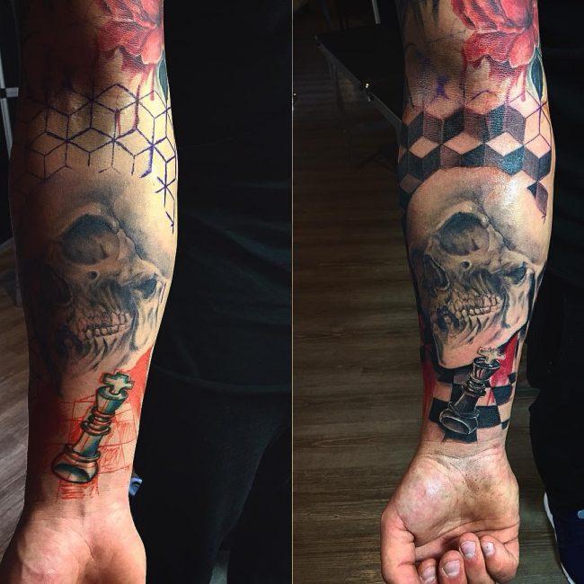 Trash Polka Tattoo 33