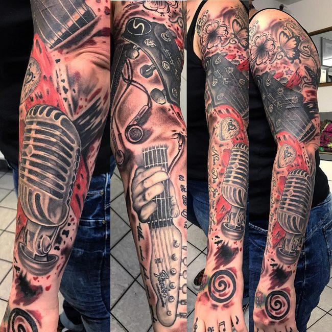 Trash Polka Tattoo 35