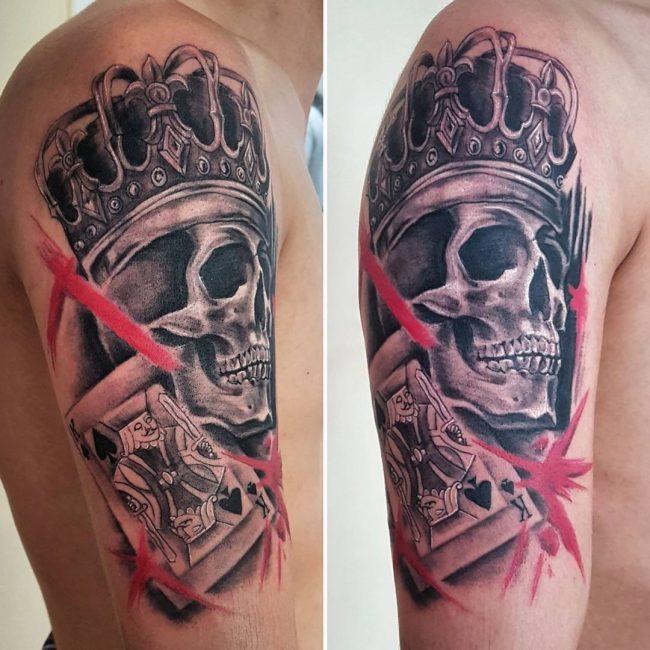 Trash Polka Tattoo 41