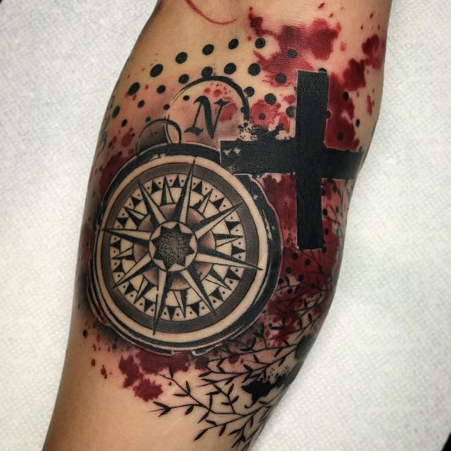 Trash Polka Tattoo 45