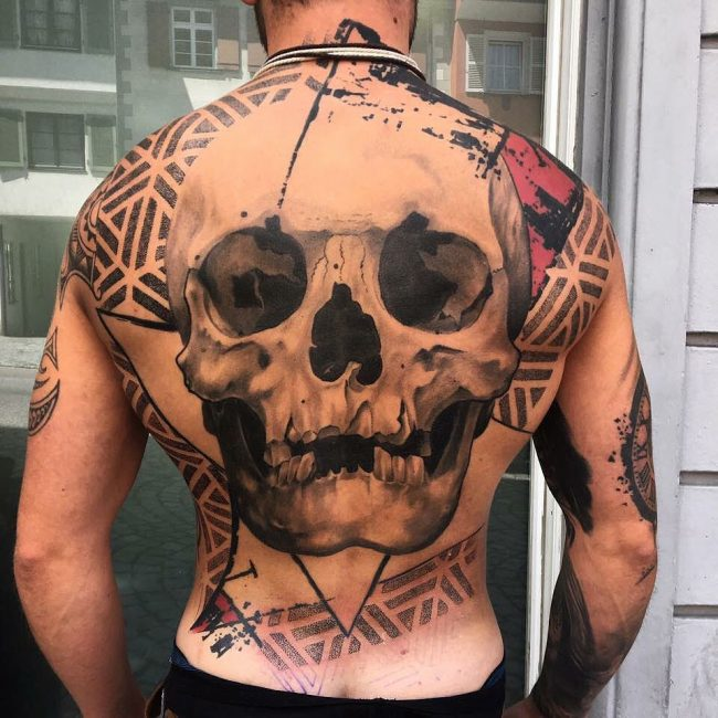 Trash Polka Tattoo 49