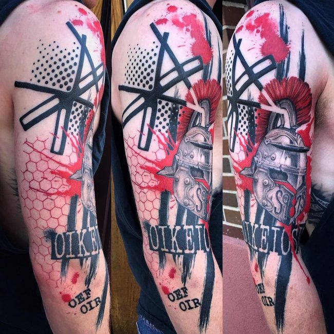 Trash Polka Tattoo 52