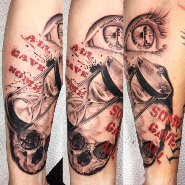 Trash Polka Tattoo 53