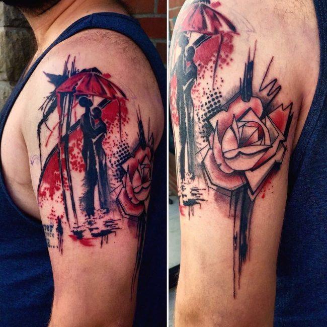 Trash Polka Tattoo 57