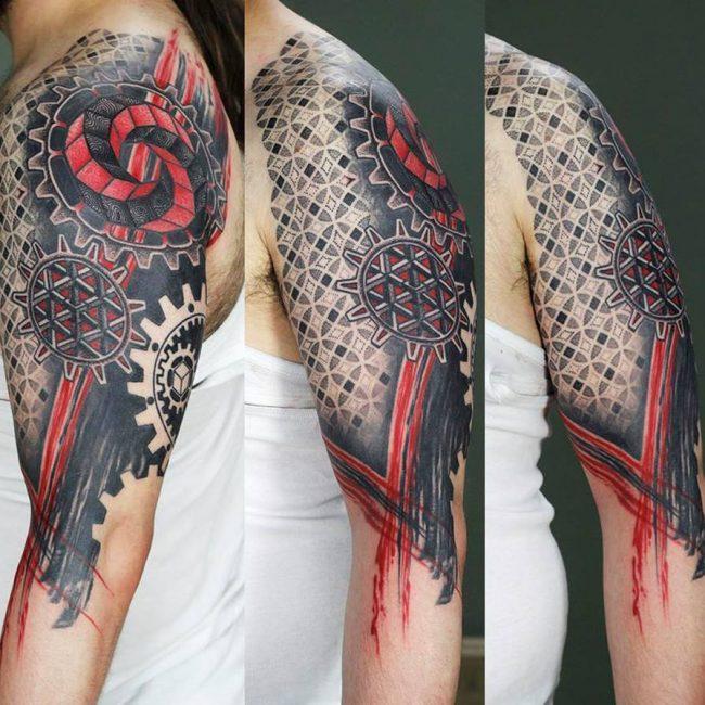 Trash Polka Tattoo 59