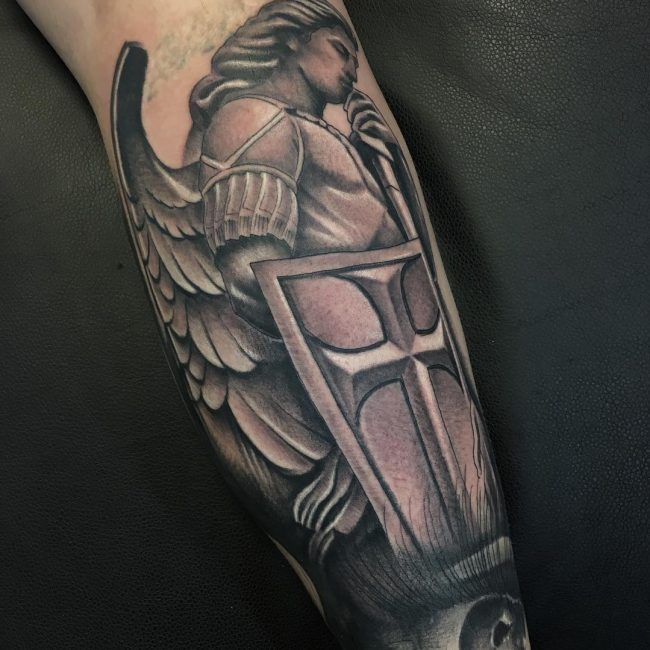 Warrior Tattoo 1