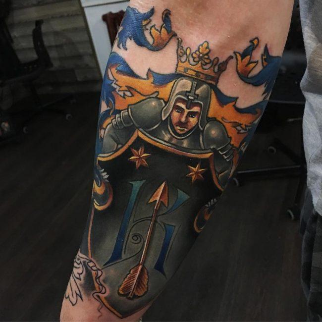 Warrior Tattoo 100