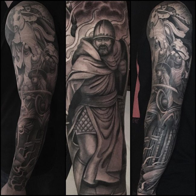 Warrior Tattoo 102