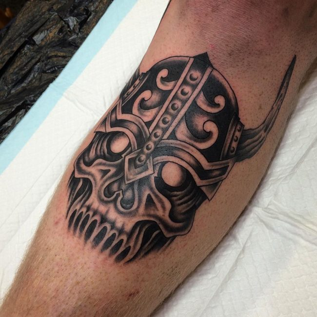 Warrior Tattoo 104