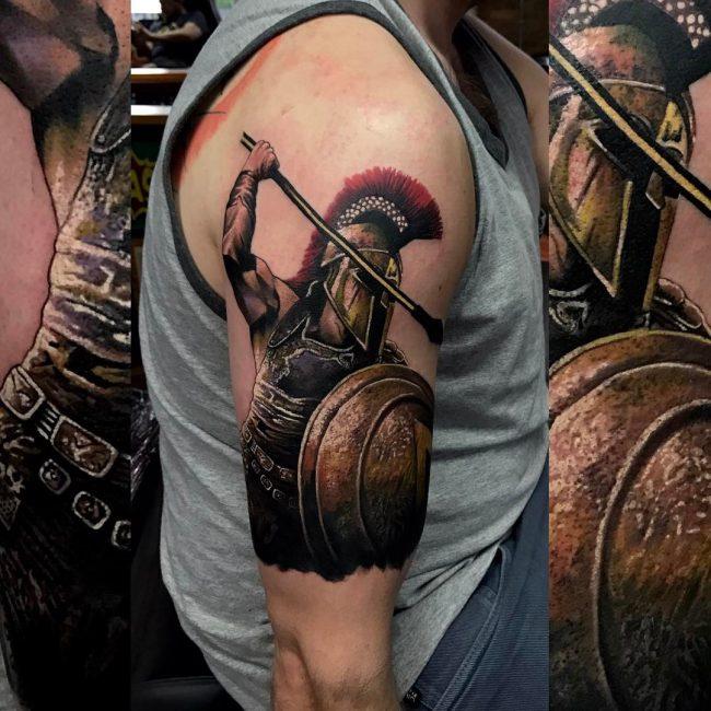 Warrior Tattoo 106