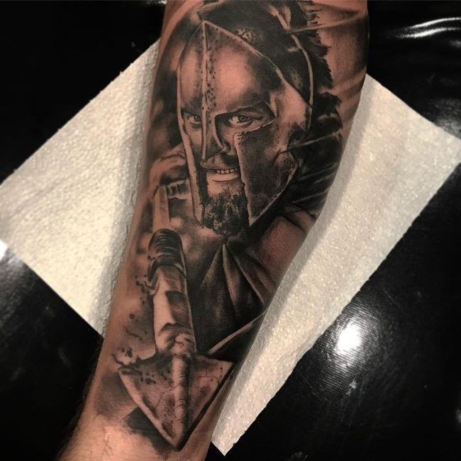 Warrior Tattoo 107