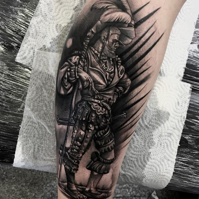 Warrior Tattoo 108
