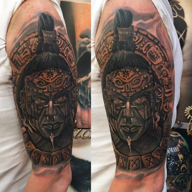 Warrior Tattoo 111