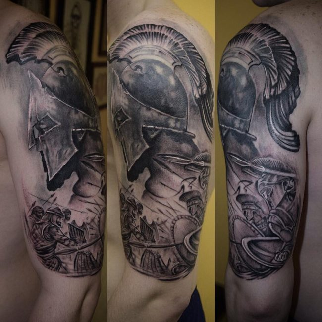 Warrior Tattoo 112