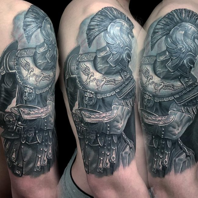 Warrior Tattoo 113