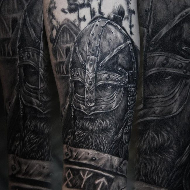Warrior Tattoo 114