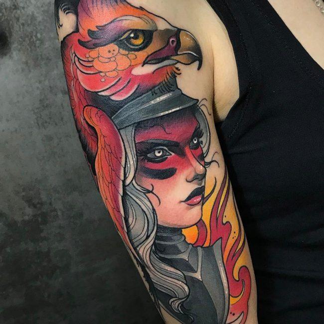 Warrior Tattoo 115