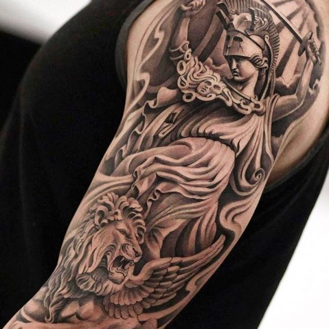 Warrior Tattoo 116
