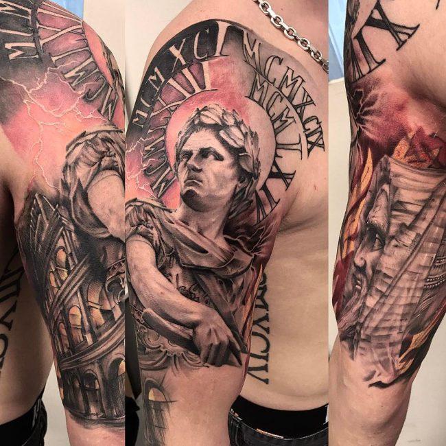 Warrior Tattoo 117