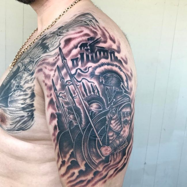 Warrior Tattoo 118