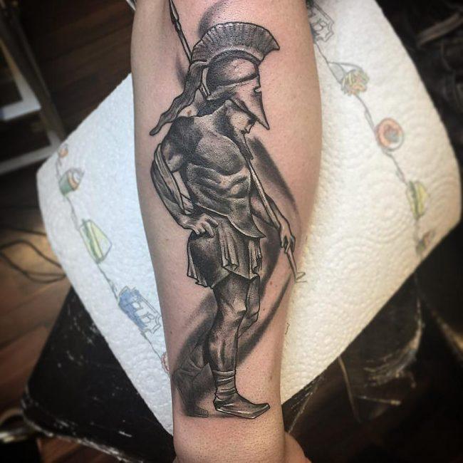 Warrior Tattoo 119