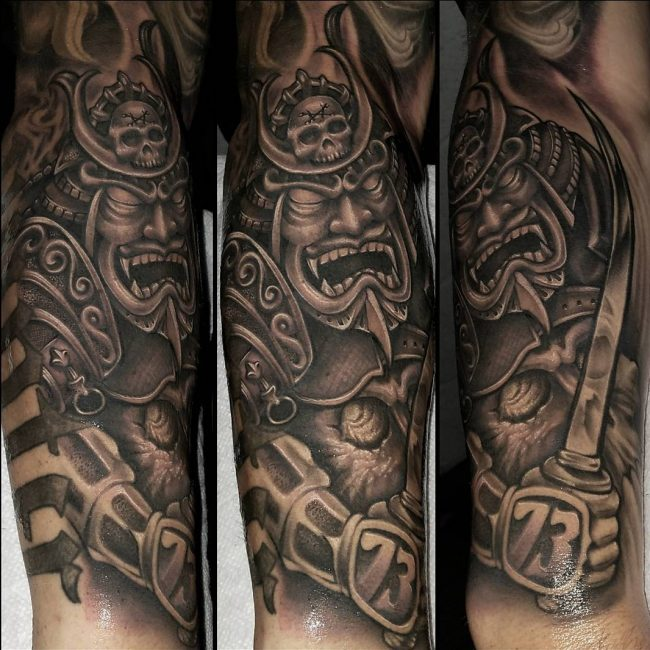 Warrior Tattoo 12