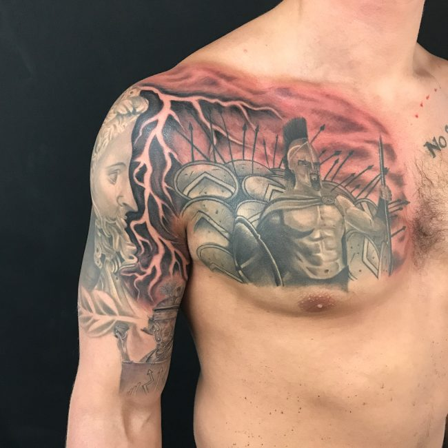 Warrior Tattoo 20