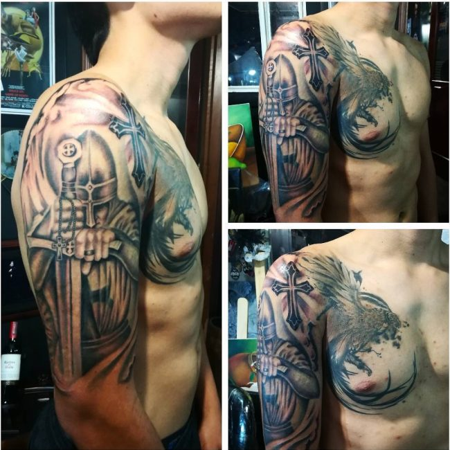 Warrior Tattoo 21