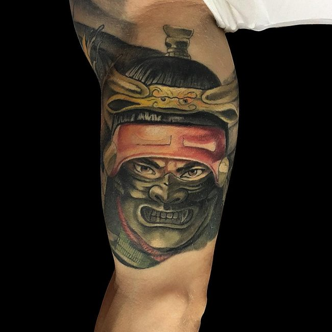 Warrior Tattoo 22