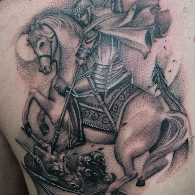 Warrior Tattoo 24