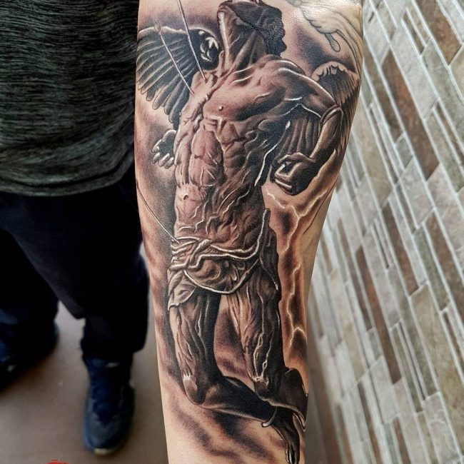 Warrior Tattoo 3