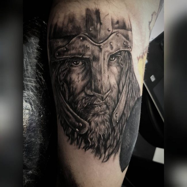 Warrior Tattoo 30