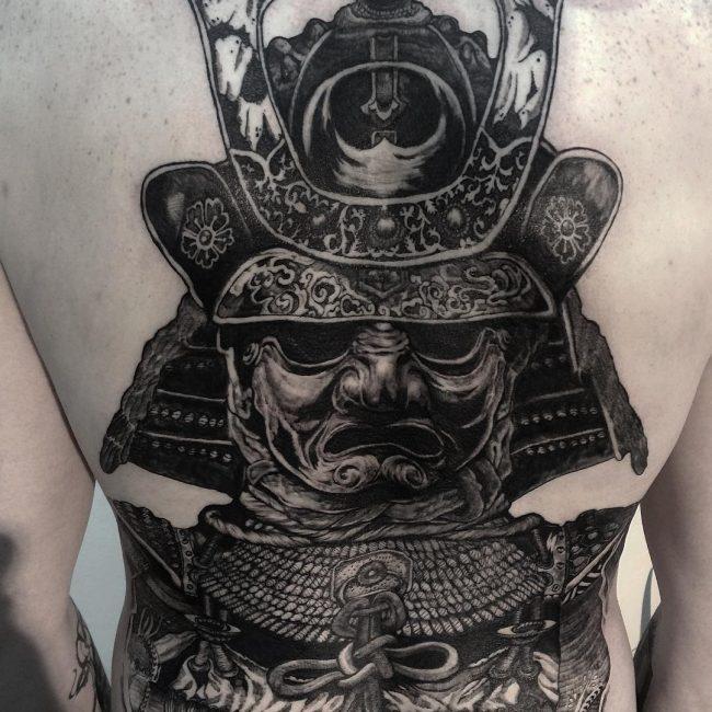 Warrior Tattoo 31