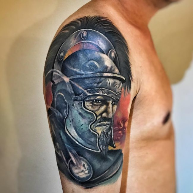 Warrior Tattoo 32
