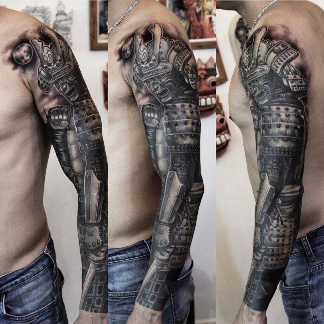 Warrior Tattoo 33