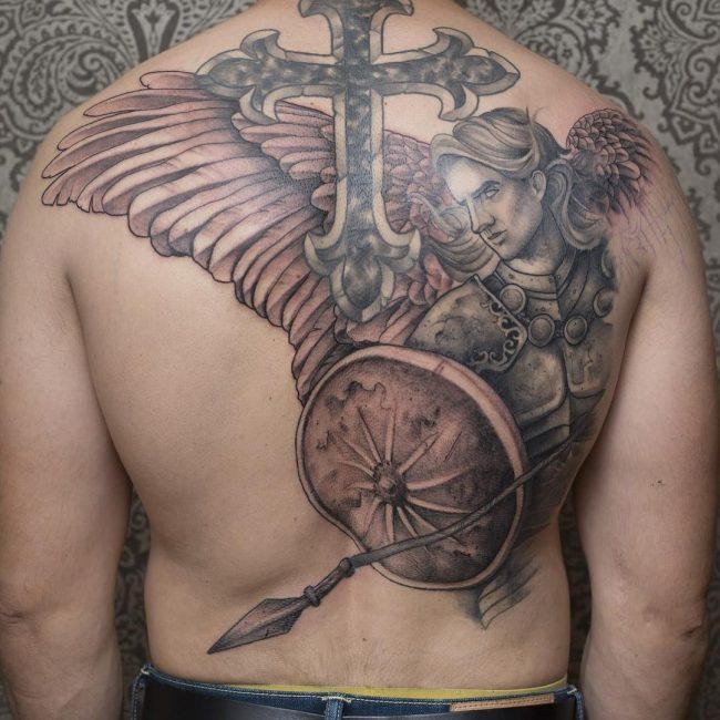 Warrior Tattoo 37